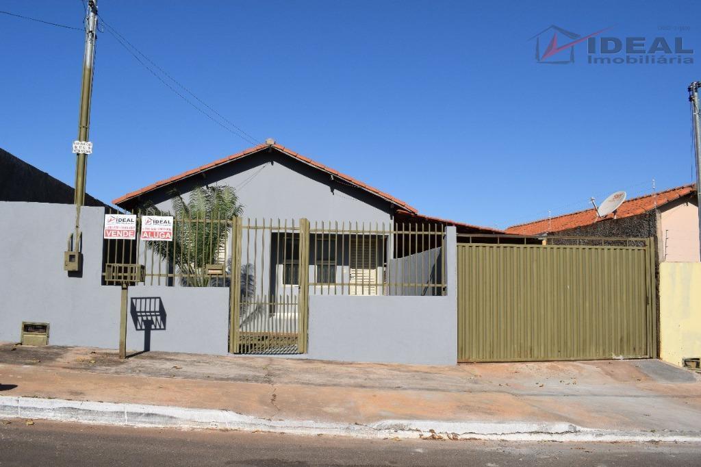 Casa residencial para venda e locação, Setor Cruvinel, Mineiros.