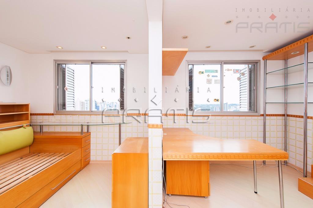apartamento com vista para a serra do mar andar alto de frente face norte- construtora pasini-sala...
