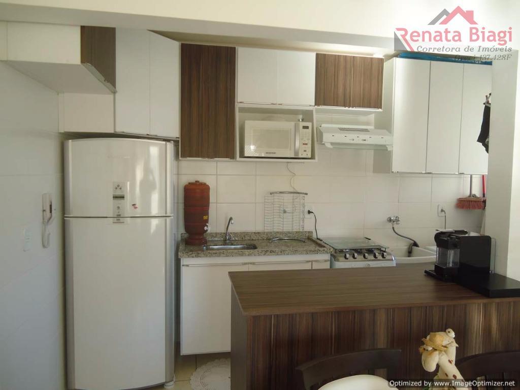 Apartamento com móveis planejados Condomínio Caminhos Do Vento B Jardim Nova Hortolândia