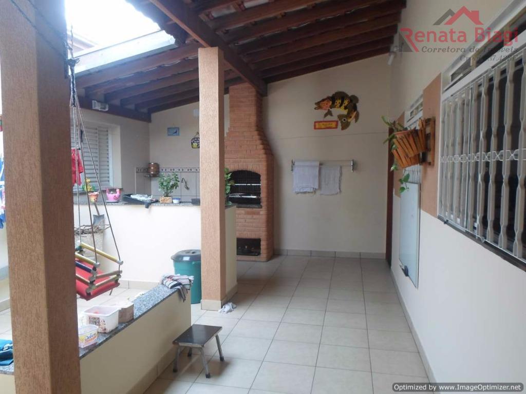 Casa com 3 dormitórios à venda, 187 m² por R$ 440.000,00 - Jardim Mirante de Sumaré - Hortolândia/SP