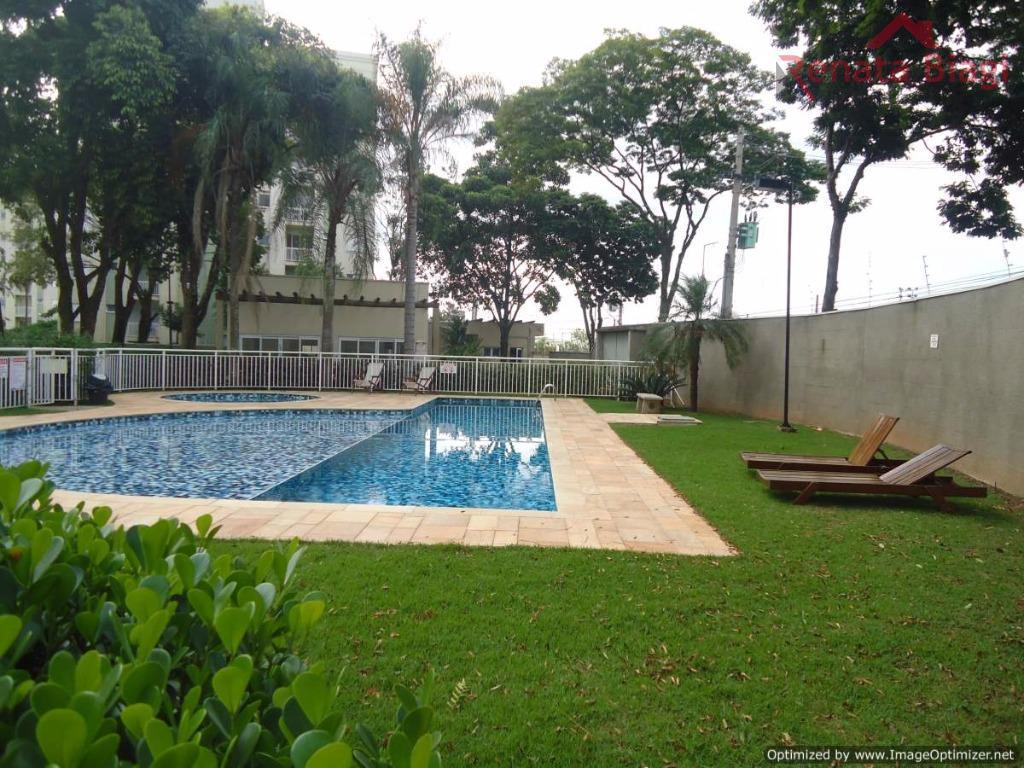 Apartamento com 2 dormitórios à venda, 51 m² por R$ 205.000,00 - Jardim Santa Izabel - Hortolândia/SP