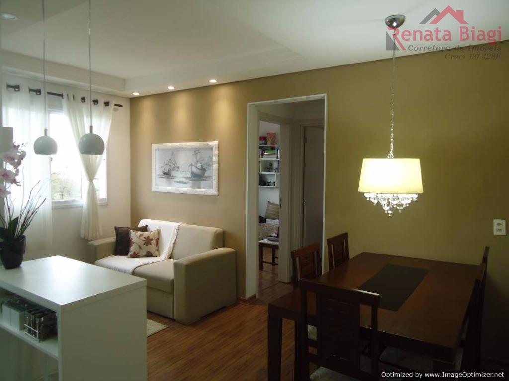 Lindo Apartamento 2 Dormitórios Condomínio Tons da Noite - Hortolândia