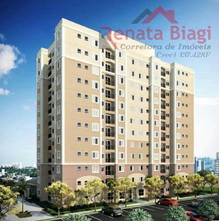 Apartamento com 2 dormitórios à venda, por R$ 200.800 - Belvedere - Hortolândia/SP
