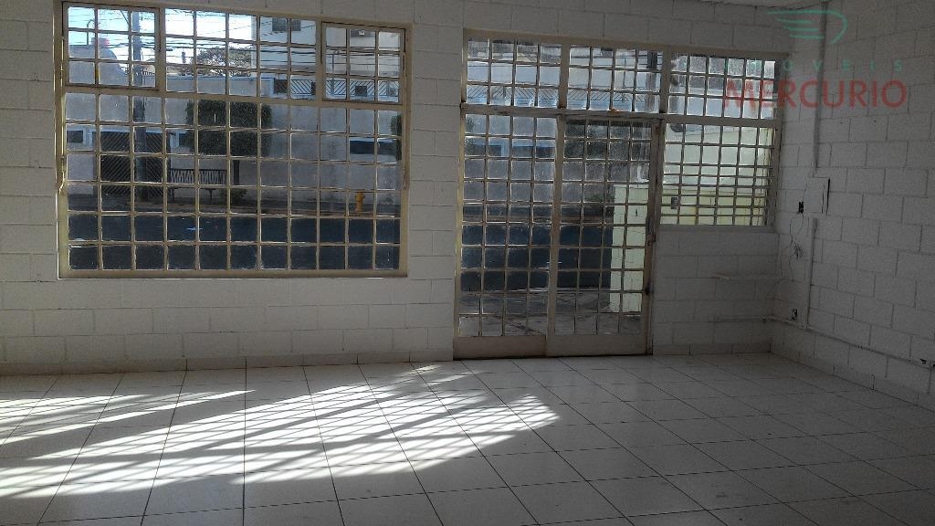 Salão  comercial para locação, Jardim Panorama, Bauru.