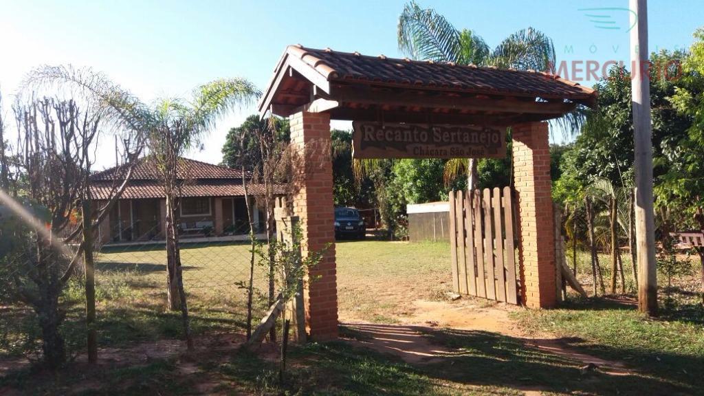 Chácara residencial à venda, Zona Rural, Bauru.