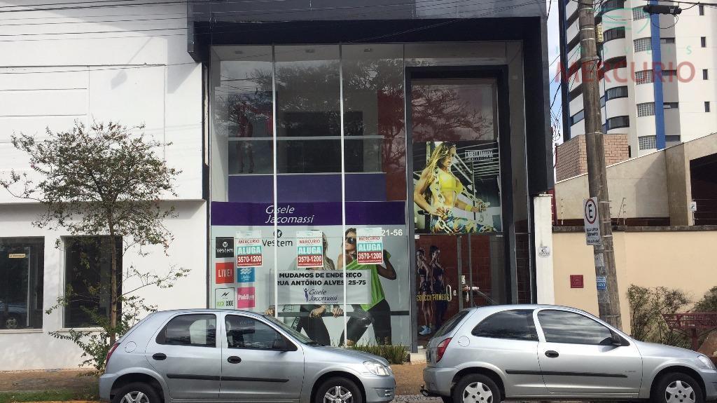 Loja comercial para locação, Centro, Bauru.