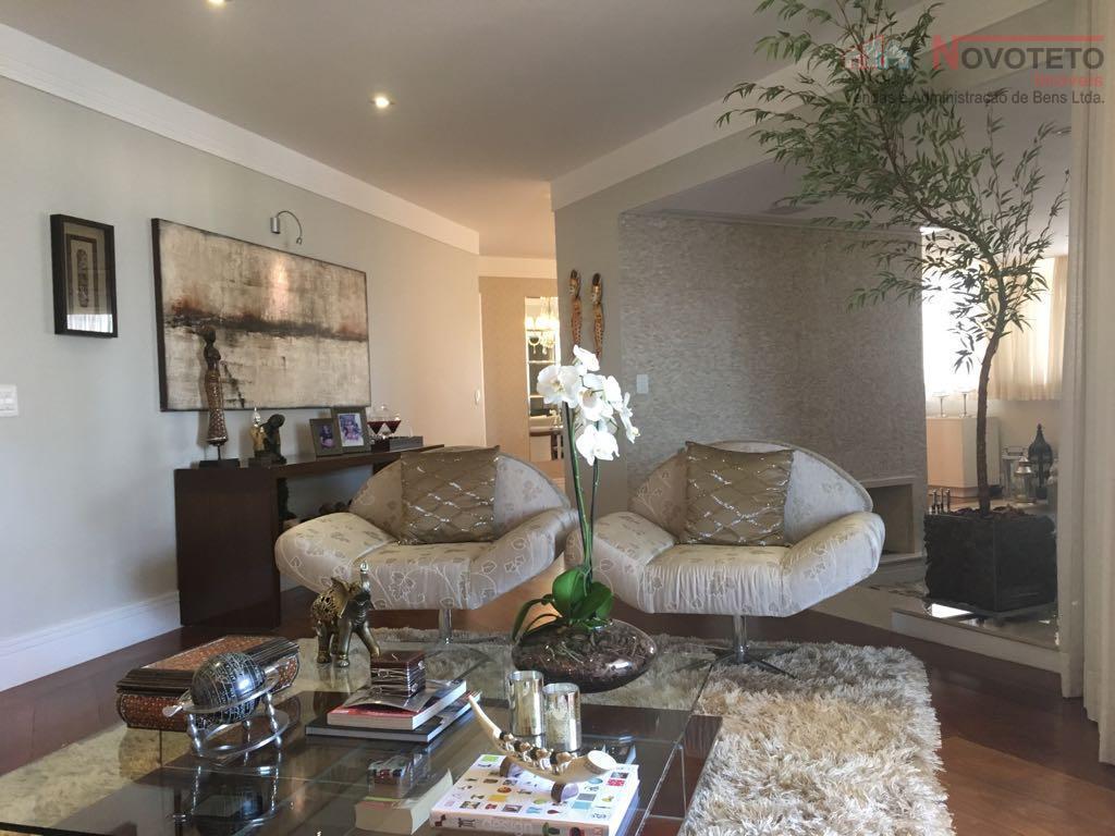lindo apartamento com 03 suítes (sendo uma master com closset, banheiro com hidro, sala de tv,...