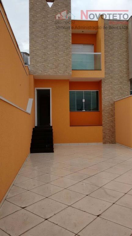 Sobrado residencial à venda, Vila Alpina, São Paulo.