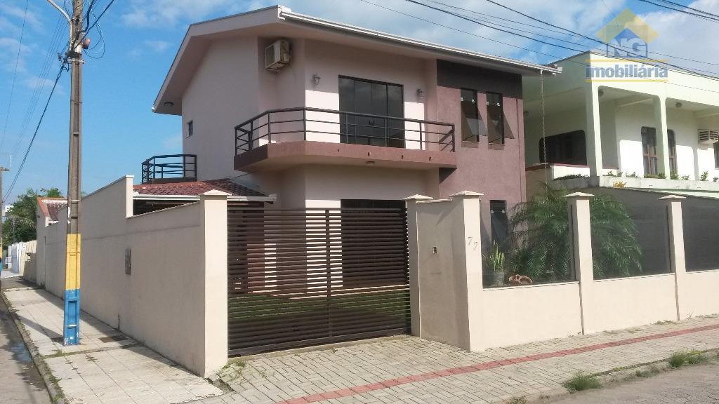 Casa residencial à venda, Centro, Navegantes.