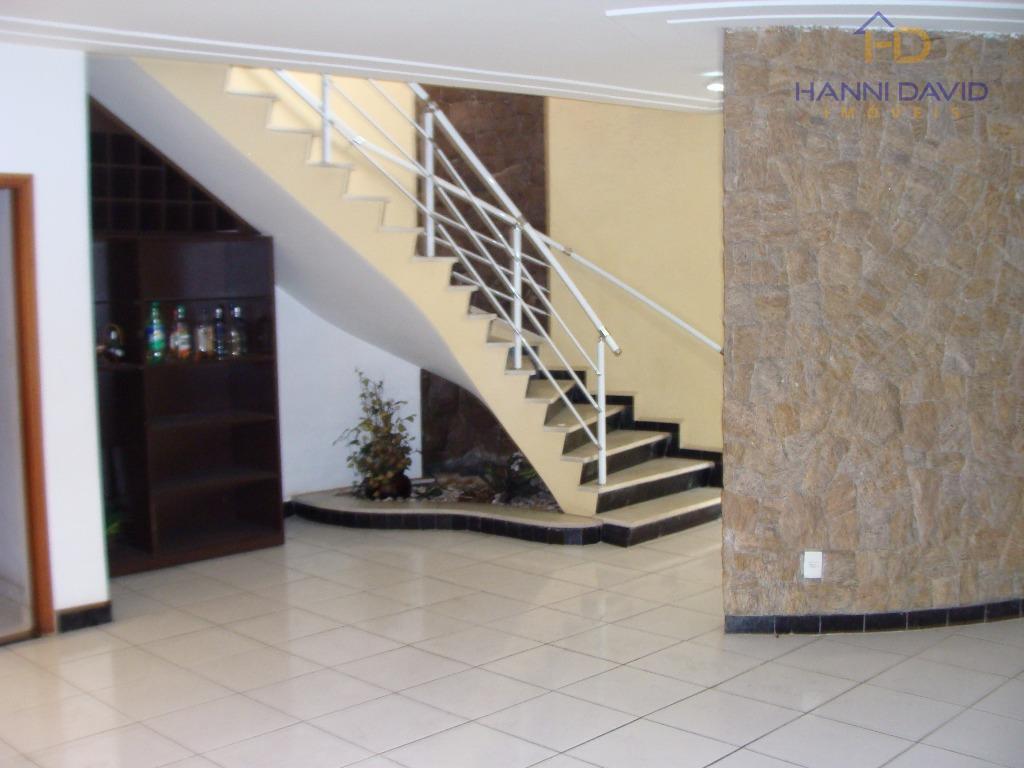 excelente sobrado apropriado para consultórios médicos, clinicas, creches, com ampla sala em l, com lavabo, cascata...