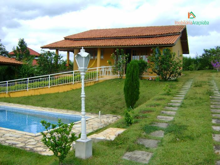 Casa residencial para venda e locação, Jundiaquara, Araçoiaba da Serra - CA0033.
