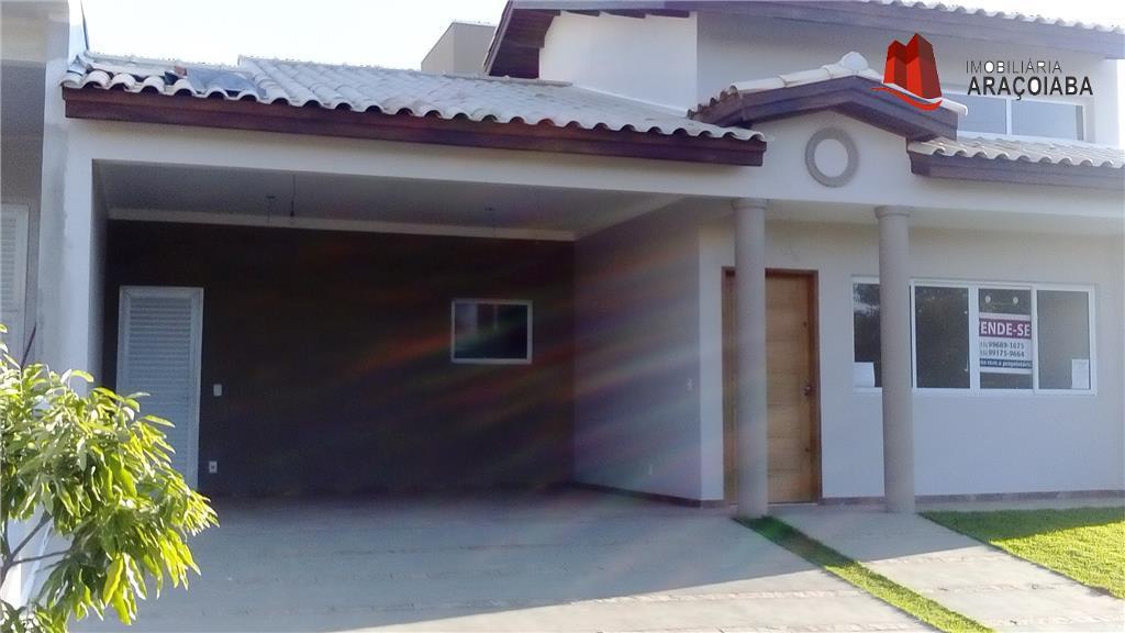 Casa residencial à venda, Condomínio Lago da Serra, Araçoiaba da Serra - CA0104.