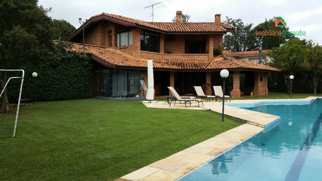 Casa residencial à venda, Condomínio Residencial Lago Azul, Araçoiaba da Serra - CA0136.