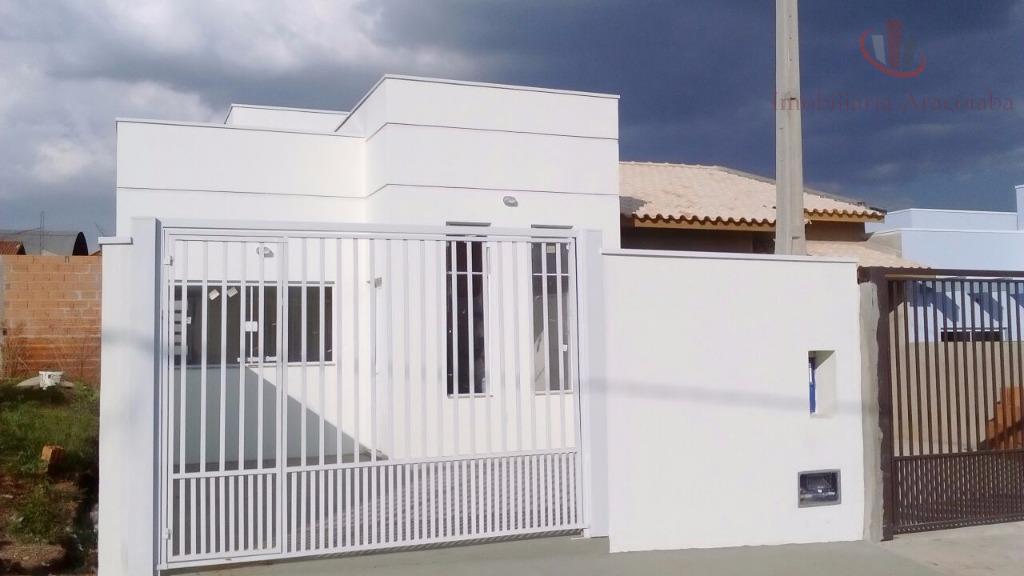 Casa residencial à venda, Centro, Araçoiaba da Serra - CA0111.
