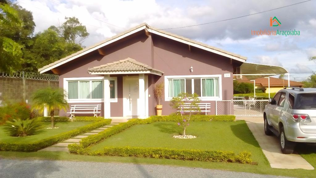 Casa condominio sant germain jundiaquara araçoiaba da serra - CA0160.
