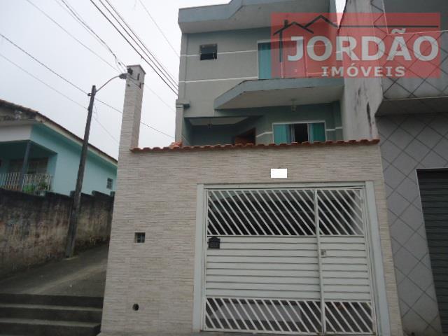 Sobrado  residencial à venda, Jardim Itapeva, Mauá.