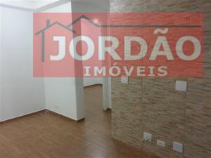 Apartamento  residencial para locação, Vila Homero Thon, Santo André.