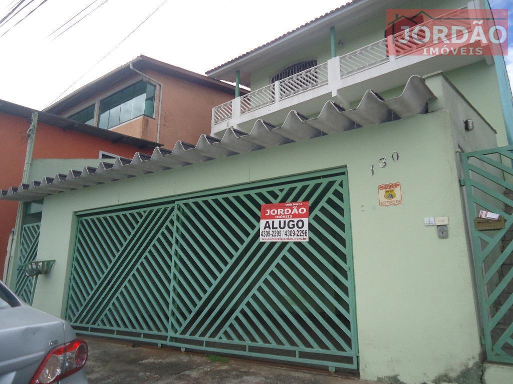 Casa  residencial para locação, Santa Luzia, Ribeirão Pires.