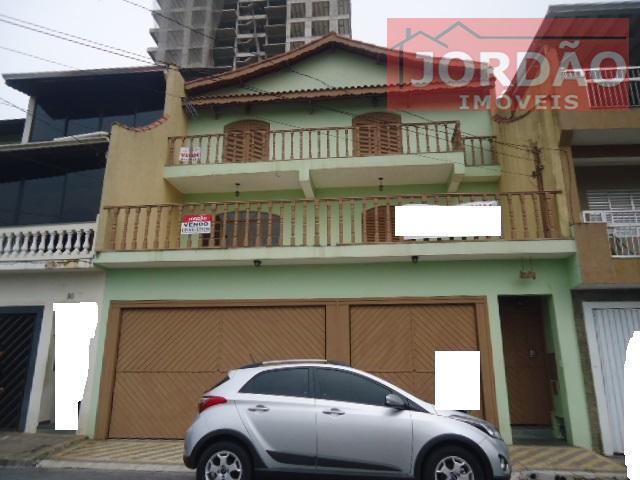 Sobrado residencial à venda, Vila Guarani, Mauá.