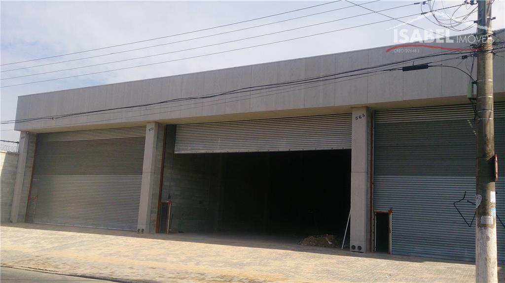 Galpão industrial para locação, Centro, Poá.