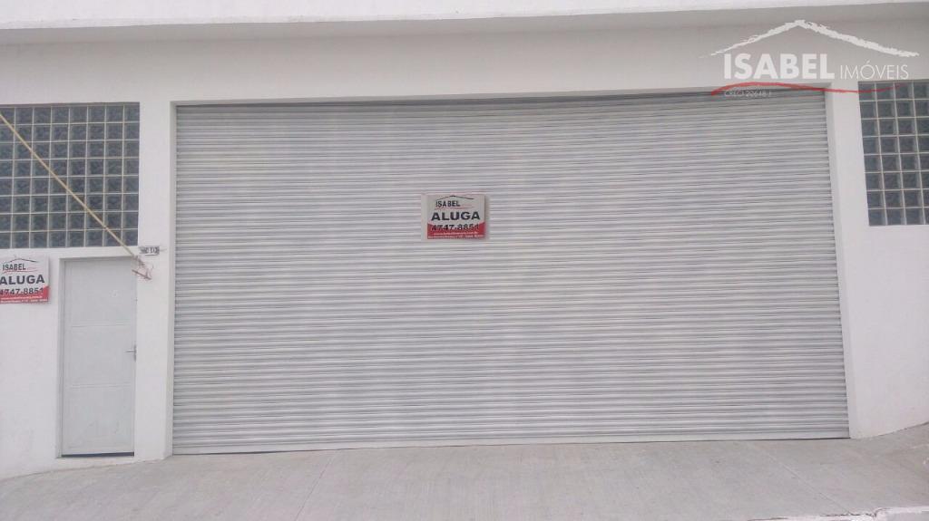 Salão comercial para locação, Centro, Poá.
