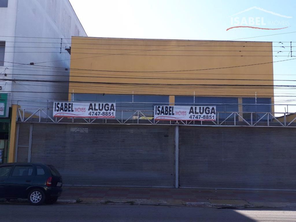 Galpão comercial para locação, Parque Suzano, Suzano.