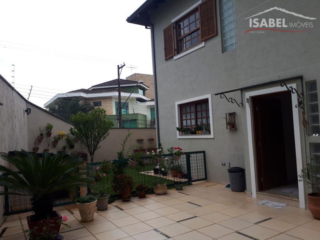 Sobrado residencial à venda, Jardim Carlos Cooper, Suzano.