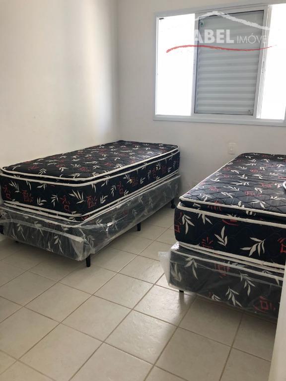 apartamento pé na areia todo mobiliado e com ar condicionado 2 dormitórios sendo 1 suíte,sala para...
