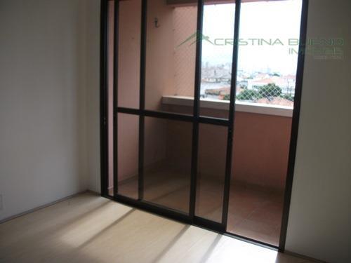 Apartamento residencial à venda, Jabaquara, São Paulo - AP0341.