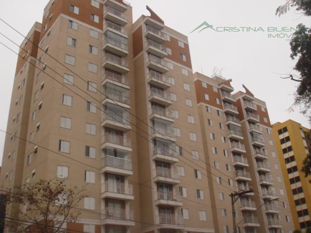 Apartamento residencial à venda, Jabaquara, São Paulo - AP1398.