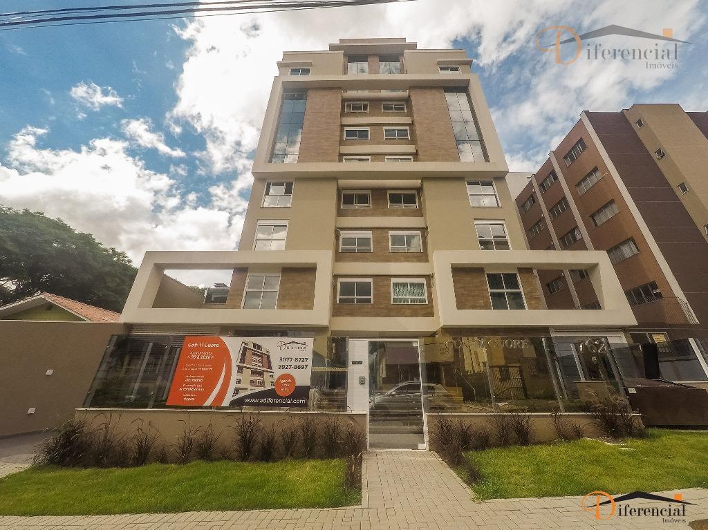 Apartamento residencial à venda, Vila Izabel, Curitiba - AP0025.