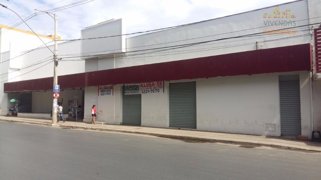Ponto comercial para locação, Centro, Montes Claros - PT0023.