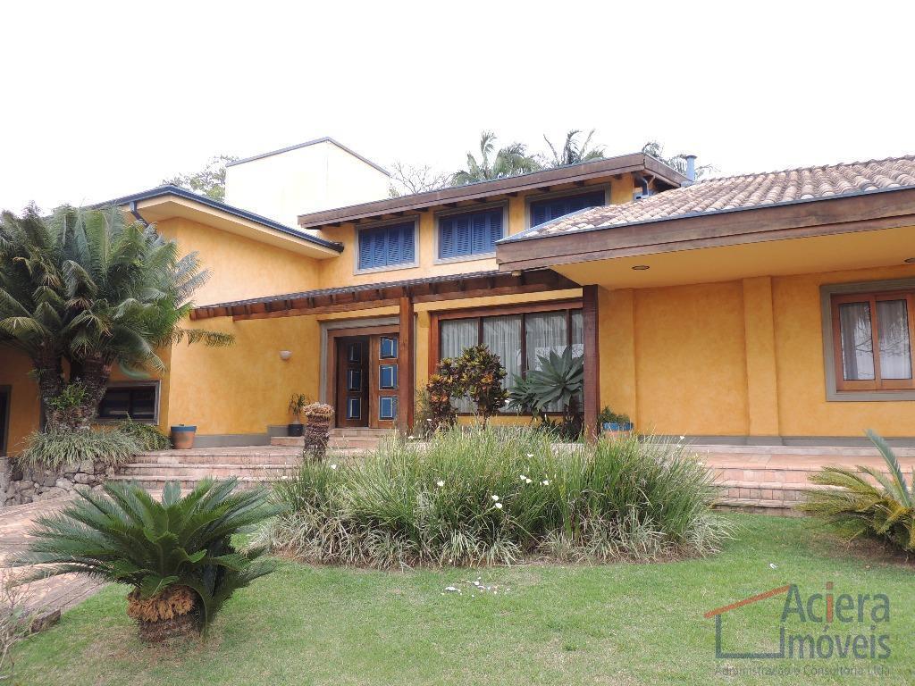 Excelente mansão à venda, com muito conforto e sofisticação na Granja Viana, Cotia - CA1432.