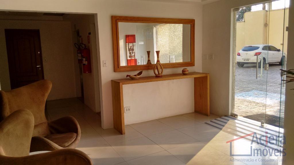 ótimo apartamento, com 2 dormitórios, salas de jantar e estar com varanda, cozinha, área de serviço...