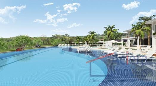 Terreno residencial à venda, Central Park Residence Club, Vargem Grande Paulista - TE0740.