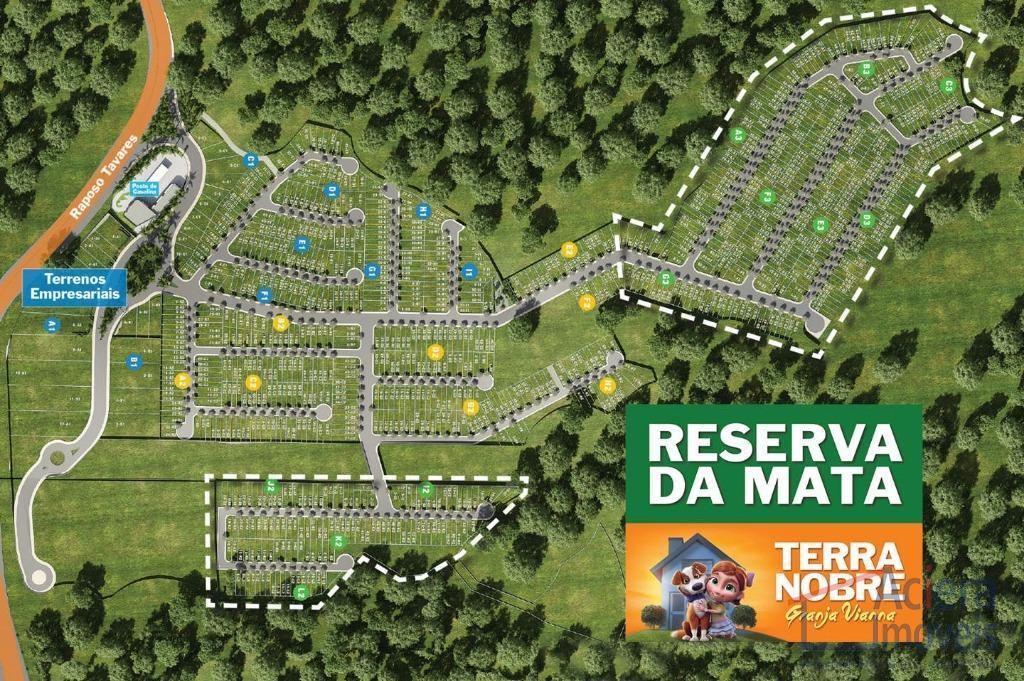 Terra Nobre Granja Viana – Bairro planejado com lotes comerciais a partir de 250m² com acesso direto da Rod.Raposo Tavares