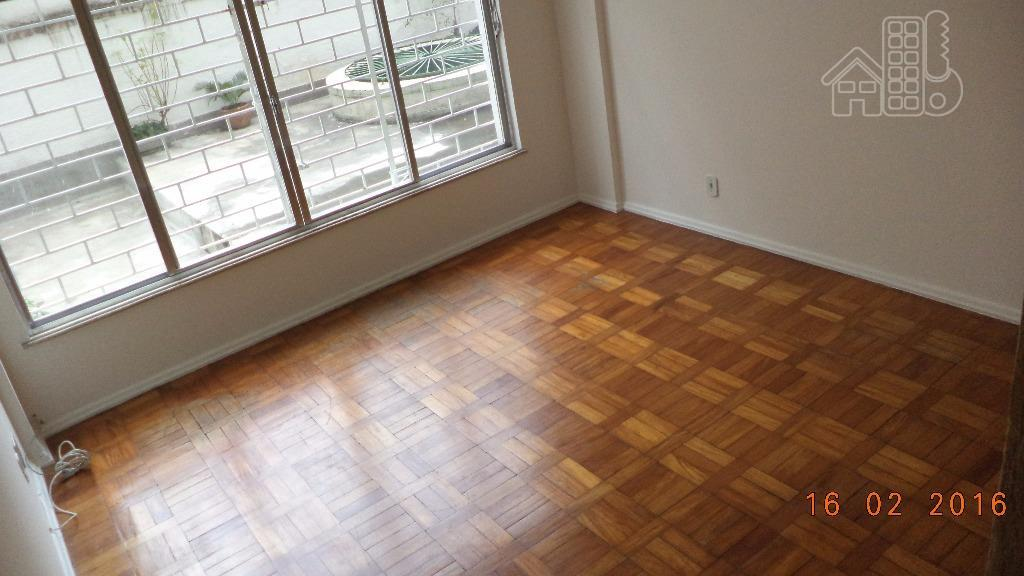 Apartamento com 2 dormitórios para alugar, 83 m² por R$ 1.500,00/mês - Icaraí - Niterói/RJ
