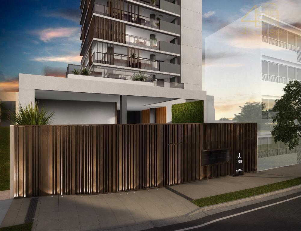cobertura em construção: jl life by design na rua joão lourenço na vila nova conceiçãoa vida...