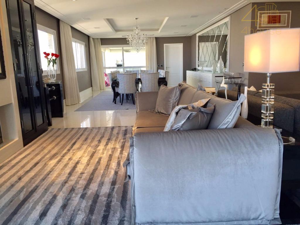 espetacular apartamento com mobilia e acabamentos de 440