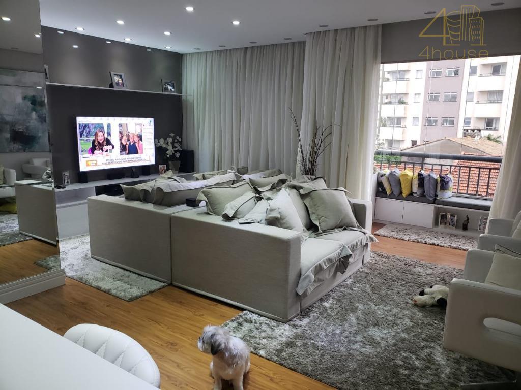 Orquídea Tropical  Rua Dom Bernardo Nogueira, 710 - Bosque da Saúde-Apartamento com 3 dormitórios à venda, 75 m²