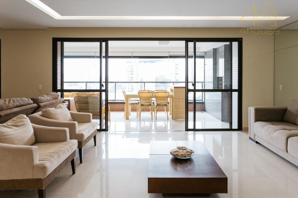 Apartamento com 4 dormitórios à venda, 167 m² por R$ 1.690.000 - Santo Amaro - São Paulo/SP