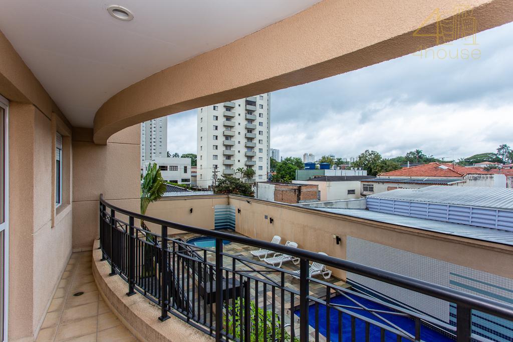 Chácara Santo Antônio (Zona Sul) - Apartamento com Sacada 104m²  03Dorms (1 Suíte)  02 Vagas na  Rua Fernandes Moreira para Venda.