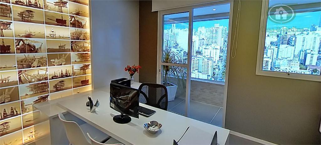 Sala Comercial no The Blue OfficeMail, luxo e requinte