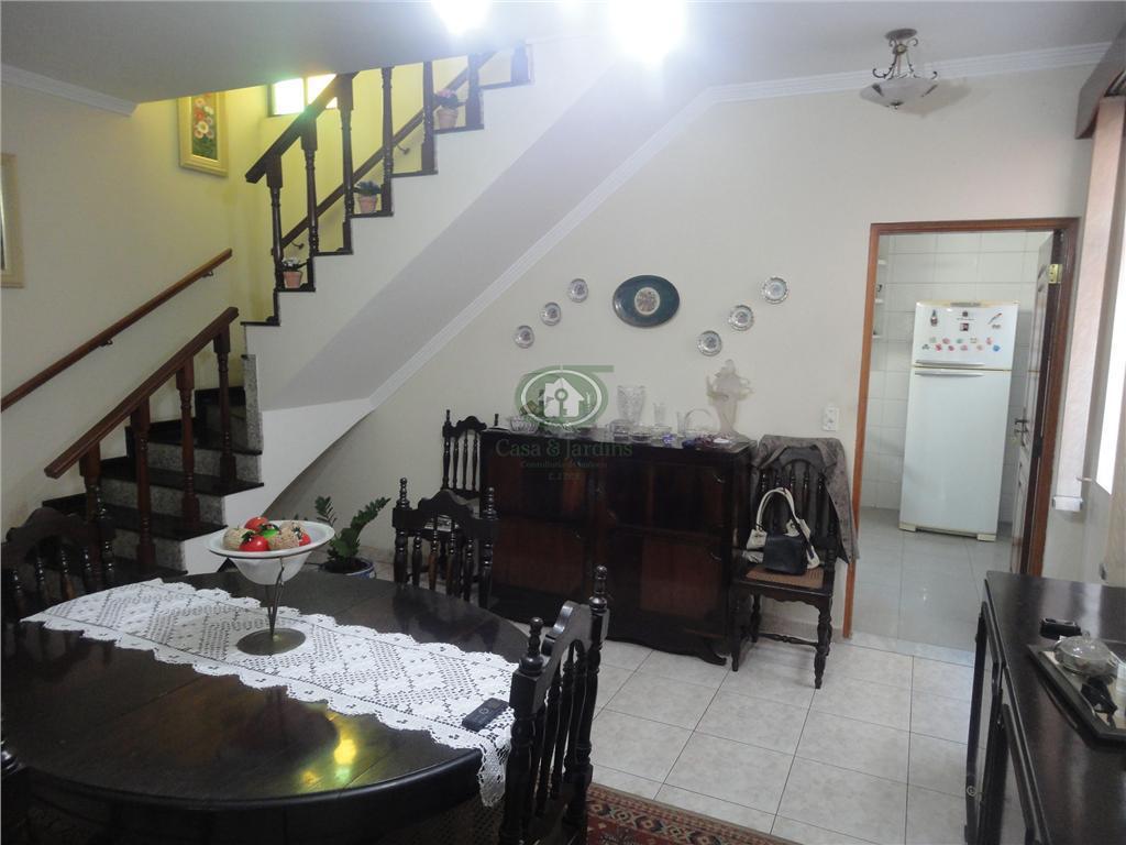 Sobrado  residencial à venda, Boqueirão, Santos.