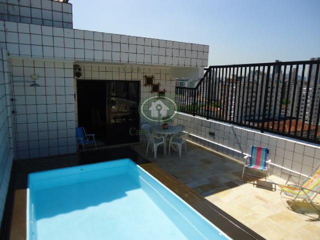 Cobertura  residencial à venda, Marapé, Santos.