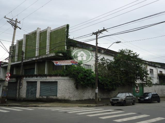 Galpão comercial à venda, Macuco, Santos.