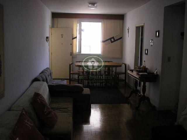 Apartamento no Gonzaga de dois dormts.