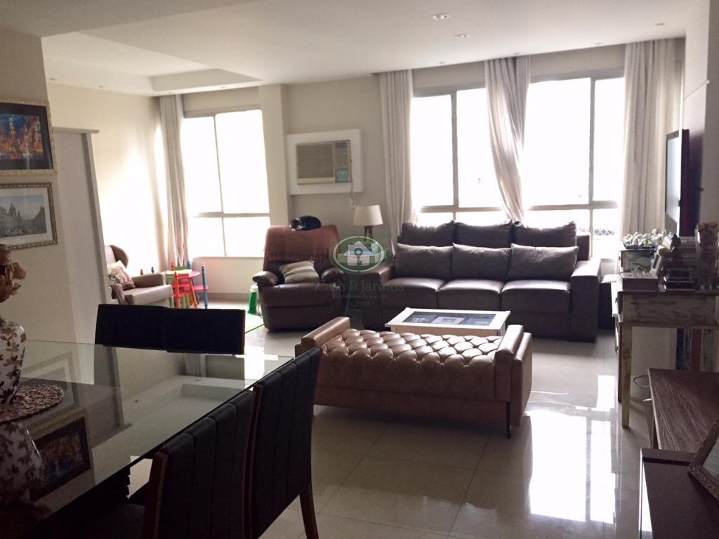 Apartamento 3 dormitorios (suite) - Alto Padrão - Gonzaga, Santos.