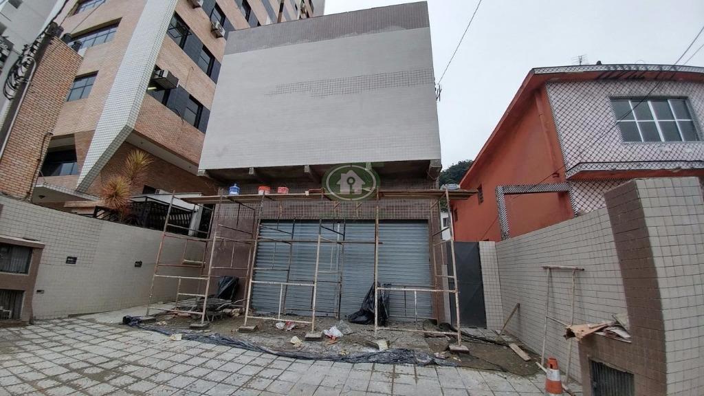 Loja comercial para locação, Marapé, Santos.