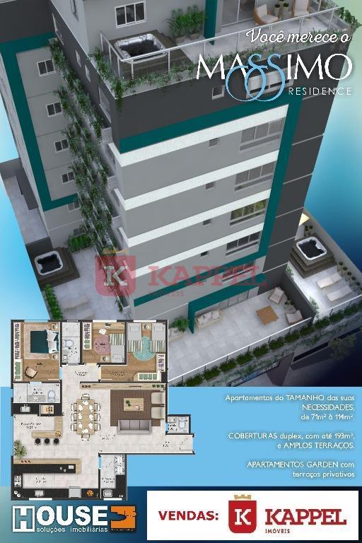 Apartamento residencial à venda, Massimo Residence, Centro, Venâncio Aires.